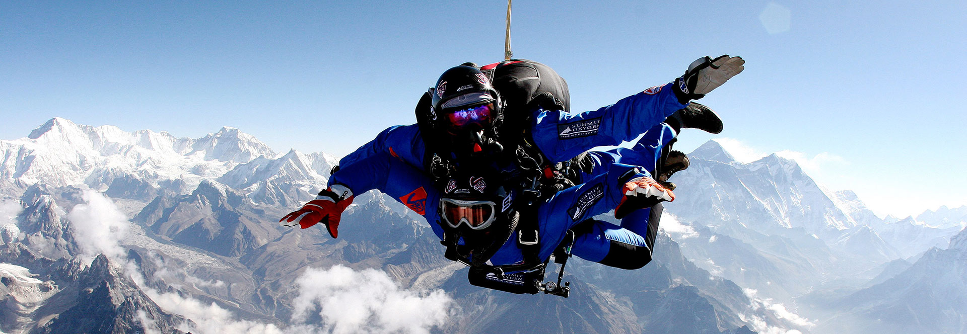 Designed for high altitude skydivers