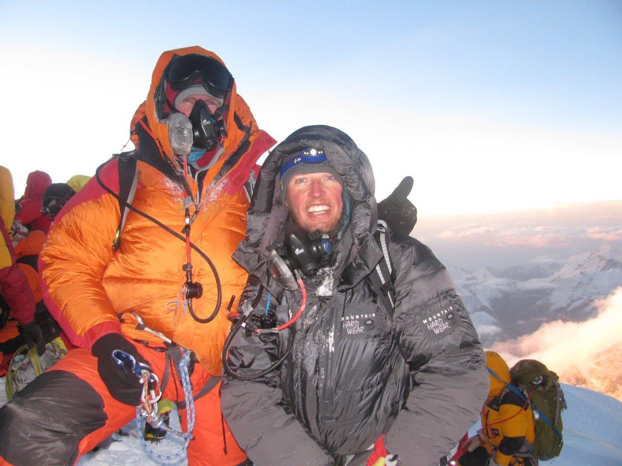 Adventure Consultants summit Everest