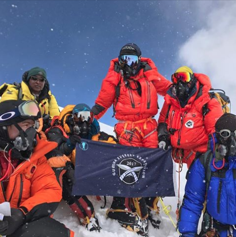 Ghurkas on Everest
